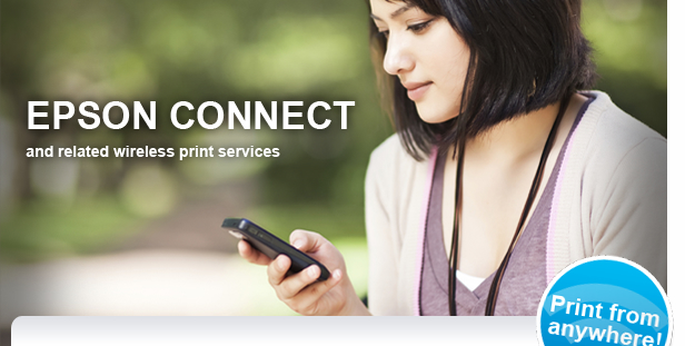 EPSON CONNECT - and related wireless print services
