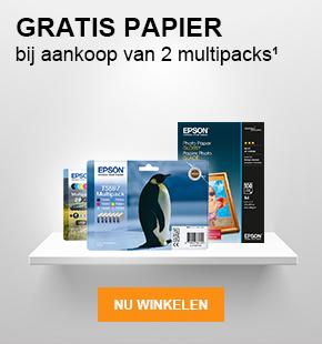 Gratis papier bij aankoop van 2 multipacks ¹ - Nu winkelen